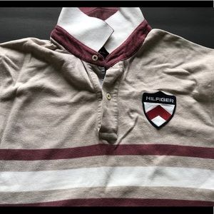 Tommy Hilfiger Vintage Style Polo With Badge Logo